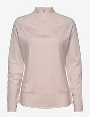 PUMA Golf - W Mesh 1/4 Zip - bluzki z długim rękawem - rosewater - 0