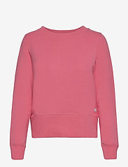 PUMA Golf - W Crewneck Zip Fleece - sweatshirts - rapture rose - 0
