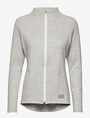 PUMA Golf - Cloudspun W Warm Up Jacket - sweatshirts - quarry heather - 0