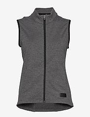 PUMA Golf - W Warm Up Vest - gevoerde vesten - puma black heather - 0
