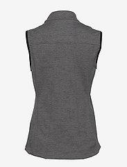 PUMA Golf - W Warm Up Vest - gevoerde vesten - puma black heather - 1