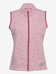 PUMA Golf - W Warm Up Vest - gevoerde vesten - rose wine heather - 1