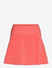 PWRSHAPE Solid Woven Skirt - GEORGIA PEACH