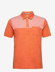 PUMA Golf - Cloudspun Pocket Polo - paidat - pureed pumpkin heather - 0