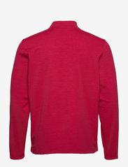 PUMA Golf - Cloudspun Stlth  Zip - långärmade tröjor - persian red heather-navy blazer - 1