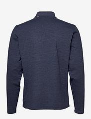PUMA Golf - Cloudspun Stlth  Zip - podstawowe bluzy - navy blazer heather - 1