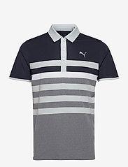PUMA Golf - MATTR One Way Polo - pikeer - navy blazer-high rise - 0