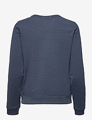 PUMA Golf - W Cloudspun Crewneck - sweatshirts - navy blazer heather - 1