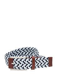 X Weave Belt - PEACOAT-BLUE BELL