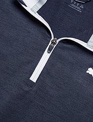 PUMA Golf - Cloudspun T7 1/4 Zip - golf jackets - navy blazer heather-bright white - 2