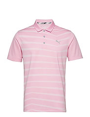 Alterknit Prismatic Polo - PALE PINK HEATHER