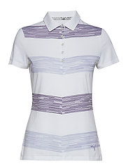 W Race Day Polo - SWEET LAVENDER