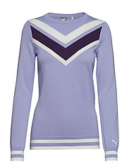 W Chevron Sweater - SWEET LAVENDER