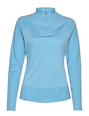 W Mesh 1/4 Zip - ETHEREAL BLUE