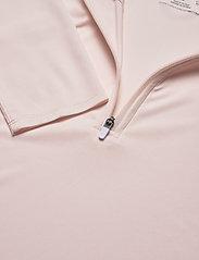 PUMA Golf - W Mesh 1/4 Zip - bluzki z długim rękawem - rosewater - 2