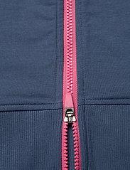 PUMA Golf - W Crewneck Zip Fleece - sweatshirts - dark denim - 3