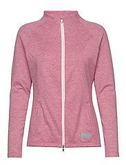 Cloudspun W Warm Up Jacket - RAPTURE ROSE HEATHER