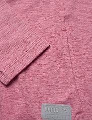 PUMA Golf - Cloudspun W Warm Up Jacket - sweatshirts - rapture rose heather - 3