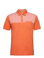 Cloudspun Pocket Polo - PUREED PUMPKIN HEATHER
