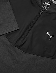 PUMA Golf - Cloudspun Stlth  Zip - basic-sweatshirts - puma black heather - 2