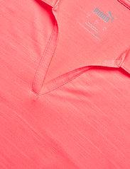 PUMA Golf - Cloudspun Free Polo - polo's - ignite pink heather - 2