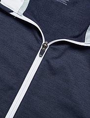 PUMA Golf - Cloudspun T7 Vest - golf jackets - navy blazer heather-bright white - 2