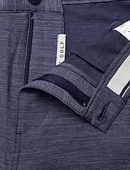 PUMA Golf - 101 Heather Short - golf shorts - navy blazer heather - 3
