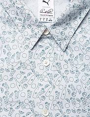 PUMA Golf - AP 19th Hole Button Down - short-sleeved shirts - halogen blue - 2