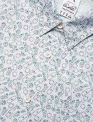 PUMA Golf - AP 19th Hole Button Down - short-sleeved shirts - halogen blue - 3