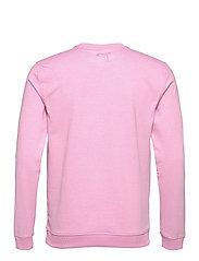 PUMA Golf - AP Cloudspun Crewneck - tops - pale pink heather - 1