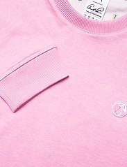 PUMA Golf - AP Cloudspun Crewneck - tops - pale pink heather - 2