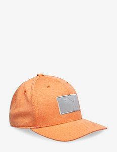 Utility Patch 110 Cap - caps - vibrant orange