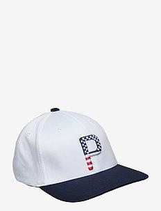 P 110 Cap Stars & Stripes - BRIGHT WHITE-PEACOAT