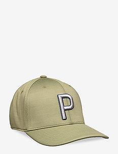 P 110 Cap - petten - deep lichen green