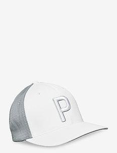 Trucker P 110 Cap - kasketter - bright white