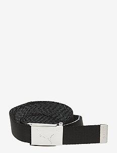 Reversible Web Belt - paski klasyczne - puma black