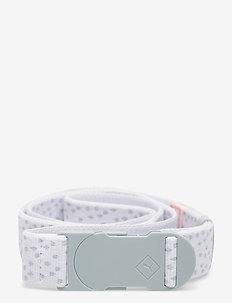 W's Ultralite Stretch Belt - accessories - bright white