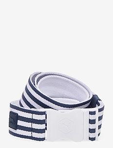 Ultralite Stretch Belt Pars & Stripes - Övrigt - dark denim