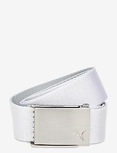 Reversible Web Belt - sportriemen - bright white