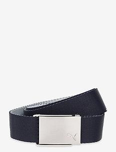 Reversible Web Belt - sport belts - navy blazer