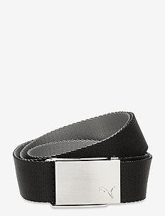 Reversible Web Belt - paski sportowe - puma black