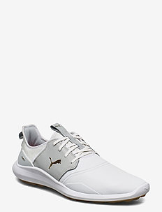 IGNITE NXT Crafted - golfschuhe - puma white-high rise-puma team gold