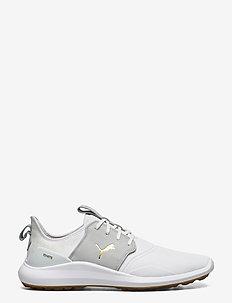 IGNITE NXT Crafted - golf shoes - puma white-high rise-puma team gold