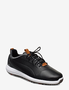 IGNITE PWRADAPT Leather 2.0 - golfschuhe - puma black-puma black
