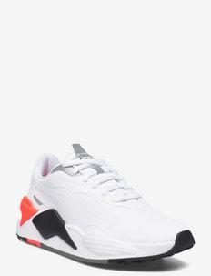 RS-G - golf shoes - puma white-puma black-red blast