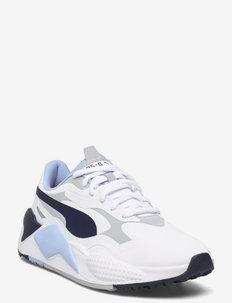 RS-G - buty do golfa - puma white-navy blazer-placid blue