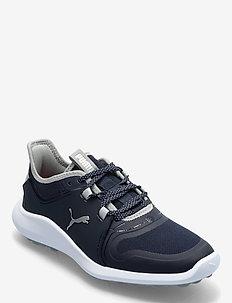 IGNITE FASTEN8 Wmns - golf shoes - navy blazer-puma silver-high rise