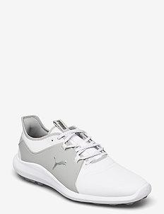 IGNITE FASTEN8 Pro - golfsko - puma white-puma silver-high rise