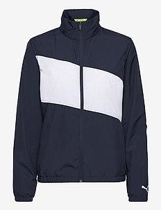 W First Mile Wind Jacket - kurtki golfowe - navy blazer-bright white