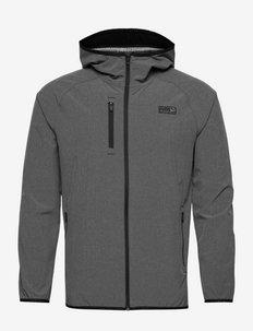 EGW Hooded Jacket - golfjackor - puma black heather